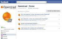 News:Opentrad's open forums on Facebook